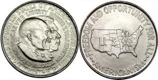 Booker T. Washington/George Washington Carver Half Dollar
